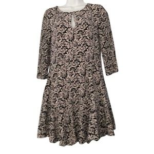100% silk cute dress new